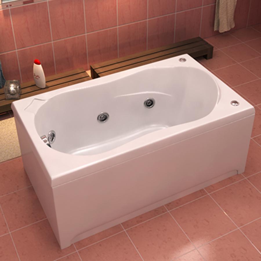 Ванна акриловая с гидромассажем BAS Бриз 150х75 см