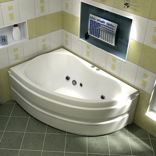 Ванна акриловая BAS Алегра 150х90 см