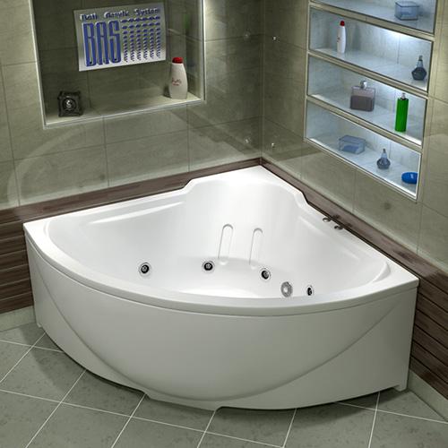 Ванна акриловая BAS Ирис 150х150 см
