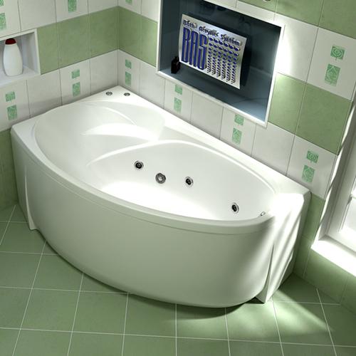 Ванна акриловая BAS Фентази 150х88 см