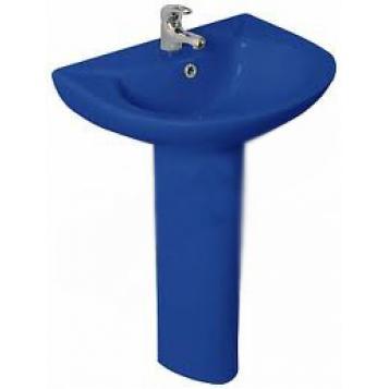 Раковина-тюльпан B212 синий