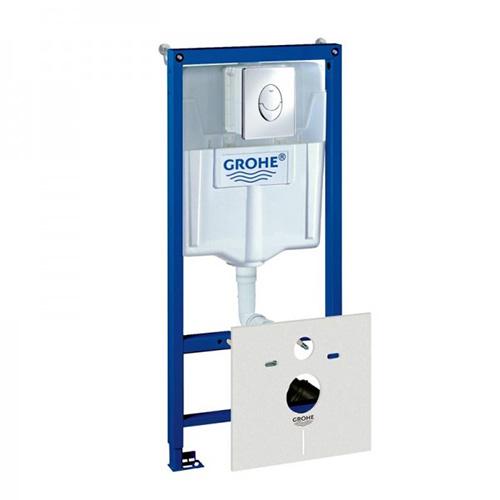 Инсталляция Grohe для подвесного унитаза Rapid SL 4 в 1(38750001)