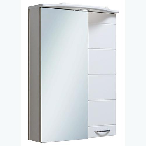 Шкаф зеркальный Кипарис 50