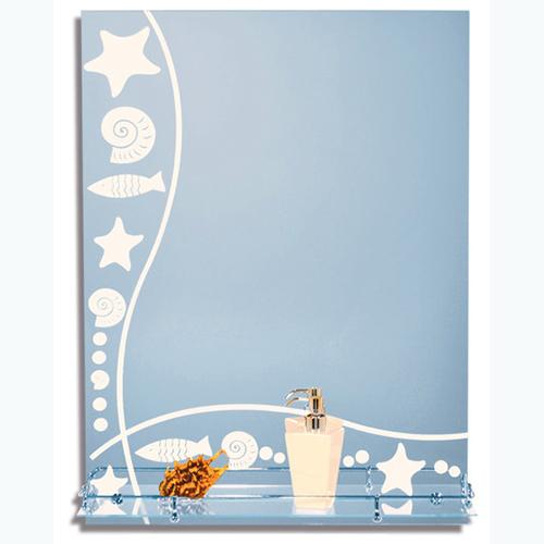 Зеркало с пескоструйной обработкой 502.P.O 600х800