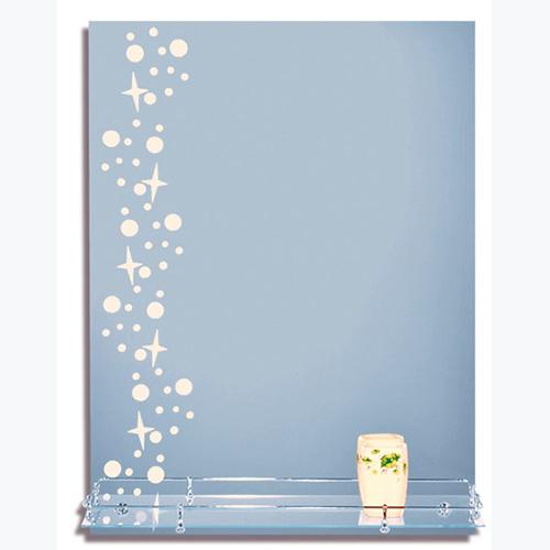 Зеркало с пескоструйной обработкой 504.P.O 600х800