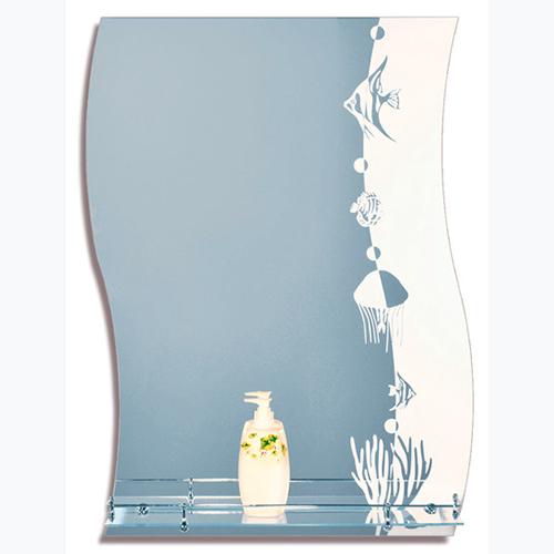 Зеркало с пескоструйной обработкой 509.P.O 600х800