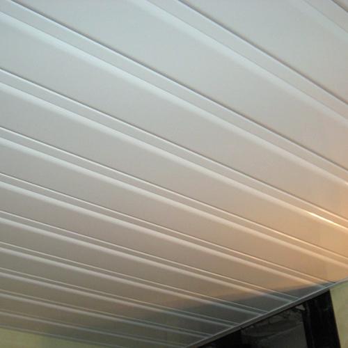 Комплект реечного потолка 1.72х1.5 белый глянец