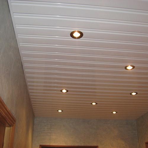 Комплект реечного потолка 1.72х1.7 белый глянец