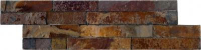 Brick Soft Nepal камень облицовочный 8.5х30 30х8.5 см