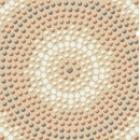 Punto бежевый Декор (PU6G152) 11x11 см