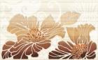 Кензо коричневый Декор (09-03-15-075-1) 25х40 40x25 см