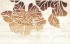 Кензо коричневый Декор (09-03-15-075-2) 25х40 40x25 см