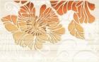 Кензо терракотовый Декор (09-03-25-075-2) 25х40 40x25 см