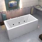 Ванна акриловая с гидромассажем BAS Индика 170х80 см