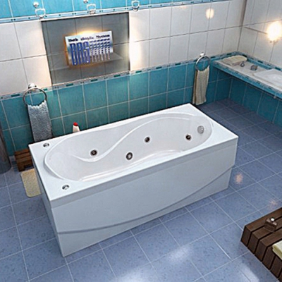 Ванна акриловая BAS Ямайка 180х80 см