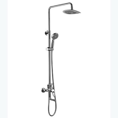 """Смеситель для ванной с верхней душевой лейкой """"Тропический дождь"""" OMEGA LM3162C"""