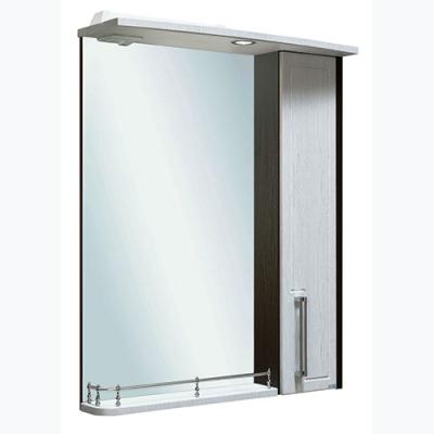 Шкаф зеркальный Гранада 60 R серебристый дуб
