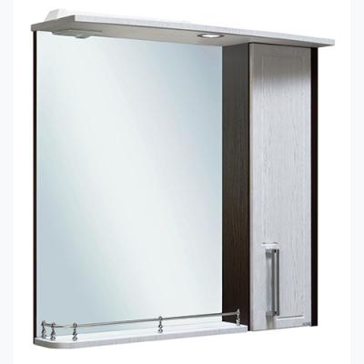 Шкаф зеркальный Гранада 75 R серебристый дуб