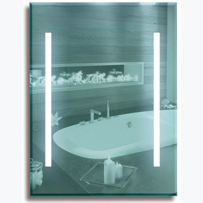 Зеркало с подсветкой 7201.F.LL 1000х800 - 1000x800 мм Россия ПЕКАМ