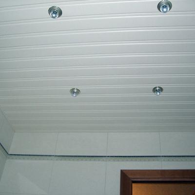 Комплект реечного потолка 1.72х1.5 белый матовый