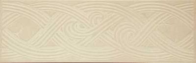 Этна белый Бордюр напольный 10.8х33 33х10.8