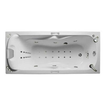 Ванна акриловая c гидро/аэромассажем 1Marka Dipsa 170х75 см
